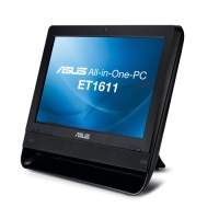 "ASUS ET ET1611PUT-B003E 1.8GHz D425 15.6"" 1366 x 768Pixel Touch screen Nero All-in-One PC"