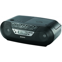 Sony ZS-RS09CP Analogico 3.4W Nero radio CD