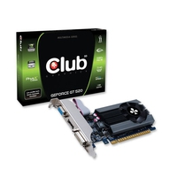 CLUB3D CGNX-G5224LI GeForce GT 520 1GB GDDR3 scheda video