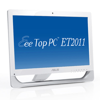"ASUS EeeTop PC ET2011EGT-W022E 3.2GHz E5800 20"" 1600 x 900Pixel Bianco PC All-in-one"