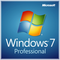 HP Microsoft Windows 7 Professional 64-Bit, DVD