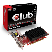 CLUB3D CGAX-64524LI Radeon HD6450 1GB GDDR3 scheda video