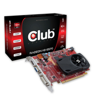CLUB3D CGAX-65724I Radeon HD6570 1GB GDDR5 scheda video