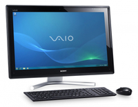 "Sony VAIO VPCL21M9E 2.3GHz i5-2410M 24"" 1920 x 1080Pixel Touch screen Nero PC All-in-one"