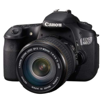 Canon EOS 60D + EF-S 17-85mm f4-5.6 IS USM Kit fotocamere SLR 18MP CMOS 5432 x 3492Pixel Nero