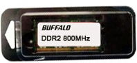 Buffalo 2GB PC6400 2GB DDR2 800MHz memoria