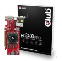 CLUB3D HD 2400PRO Low Profile 256MB GDDR2