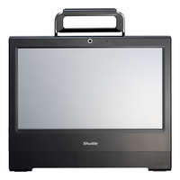 "Shuttle XPC X 5020XA Plus 1.8GHz D525 15.6"" 1366 x 768Pixel Touch screen Nero PC All-in-one"