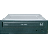 Samsung DVD-ROM 16x, Black + Power DVD Interno Nero lettore di disco ottico