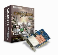Gigabyte GeForce 7600GT 256MB SILENT PIPE GDDR2