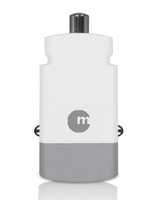 Macally Mini Car USB Auto caricabatterie per cellulari e PDA