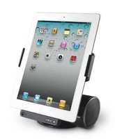 Logitech AV Stand for iPad 2.0canali 5W Nero docking station con altoparlanti