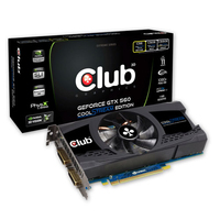 CLUB3D CGNX-X56024 Geforce GTX 560 1GB GDDR5 scheda video