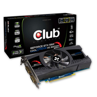 CLUB3D CGNX-X56024O GeForce GTX 560 1GB GDDR5 scheda video