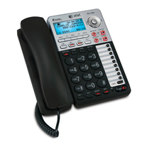 VTech ML17939 telephone Analog telephone Black, Silver Caller ID
