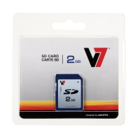 V7 2GB SD 2GB SD memoria flash