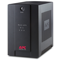 APC Back-UPS 500VA 500VA 4AC outlet(s) Mini tower Nero gruppo di continuità (UPS)