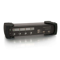 C2G 35567 Nero switch per keyboard-video-mouse (kvm)