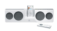 Logitech Pure-Fi Anywhere, White Bianco docking station con altoparlanti