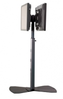 Chief Universal Dual Display Floor Stand Nero