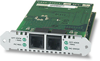 Allied Telesis Port Interface Card (PIC), 2x VOIP (FXS) voice network module