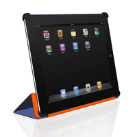 Macally BOOKSTAND2BL Cover Blu custodia per tablet