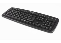 Kensington K64370A USB+PS/2 QWERTY Nero tastiera