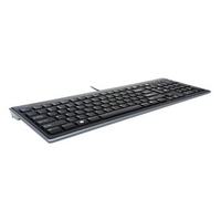 Kensington Advance Fit Full-Size Slim-Tastatur USB QWERTZ Nero tastiera