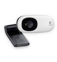 Logitech Webcam C110 1.3MP 640 x 480Pixel USB 2.0 Nero, Bianco webcam