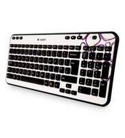 Logitech K360 DE Purple Pebbles RF Wireless Multicolore tastiera