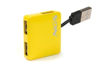 NGS Yellow Microhub 480Mbit/s Giallo perno e concentratore