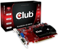 CLUB3D CGAX-65724ZI Radeon HD6570 1GB GDDR3 scheda video