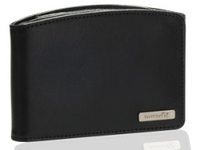 "TomTom Universal Leather Carry Case 4.3"" & 5.0"" 5"" Custodia a libro Pelle Nero"