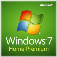 HP Microsoft Windows 7 Home Premium 64-bit, DVD