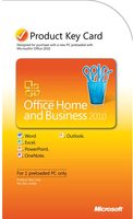 HP Office Home & Business 2010, Win, PKC