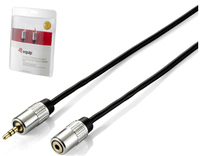 Equip 149271 2.5m 3.5mm 3.5mm Nero cavo audio