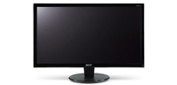 "Acer P246HAbd 24"" Full HD Nero monitor piatto per PC"