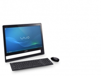 "Sony VAIO VPCJ21M9E 2.1GHz i3-2310M 21.5"" 1920 x 1080Pixel Touch screen Nero PC All-in-one"