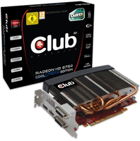 CLUB3D CGAX-H67524 Radeon HD6750 1GB GDDR5 scheda video