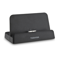 Toshiba PA3956U-1PRP Nero replicatore di porte e docking station per notebook
