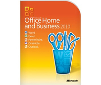 HP Microsoft Office Home & Business 2010, x32/64, PSG, FRE Francese
