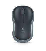 Logitech M185 RF Wireless Ambidestro Nero mouse