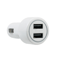 Targus Dual USB Car Charger For Media Tablets & Mobile Phones