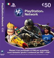 Sony PSN Card, 50 Eu, IT