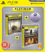 Sony Resistance Twin-Pack (Resistance 2 + Resistance: Fall of Man) [Platinum] PlayStation 3 Tedesca videogioco