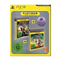 Sony Rachet & Clank Twin Pack (A Crack in Time + Tools of Destruction) [Platinum] PlayStation 3 Tedesca videogioco