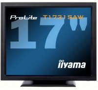 "iiyama ProLite T1731SAW 17"" Nero monitor piatto per PC"