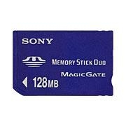 Sony Memory Stick Duo 128MB small 0.125GB memoria flash