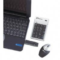Targus WIRELESS KEYPAD AND MINI RF Wireless tastiera