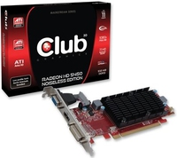 CLUB3D CGAX-5452BLI Radeon HD5450 0.5GB GDDR3 scheda video